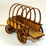 4GROUND - C19th General purpose horse wagon - 28mm - 28-CAW-302