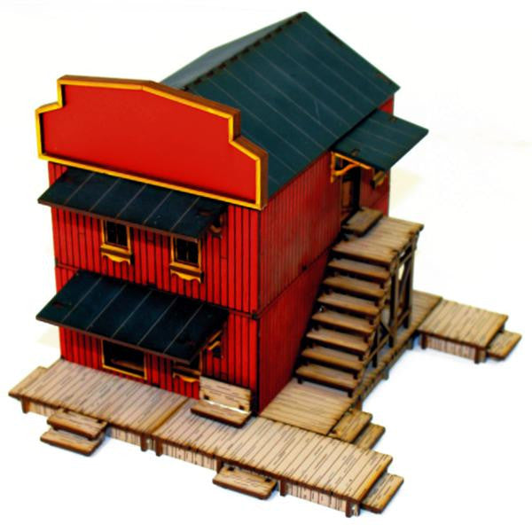 4GROUND - Hand main street building - 28mm - 28S-DMH-104