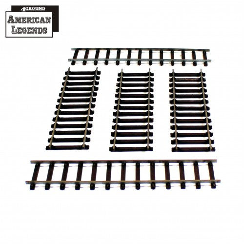 4GROUND - Dead Man's Hand - Straight railway lines - 28mm - 28S-DMH-A14