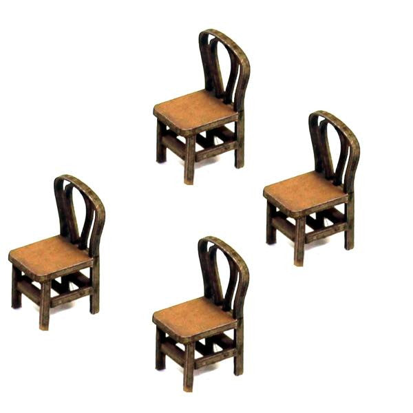 4GROUND - Bentwood back chair from the 1800s in light wood - 28mm - 28S-FAB-010L