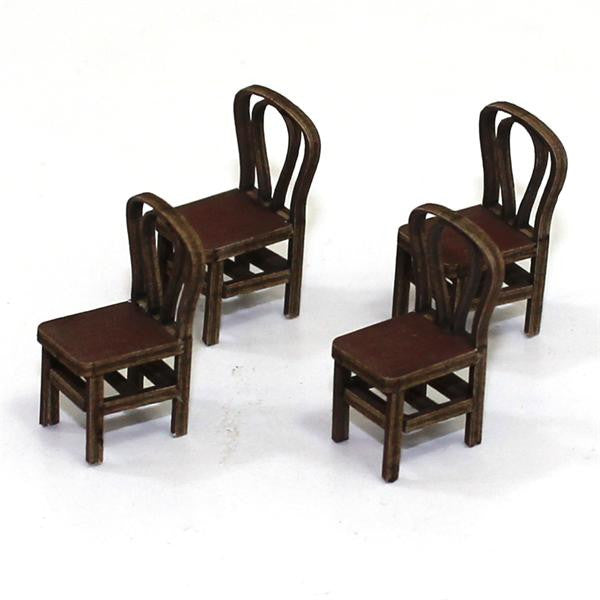 4GROUND - Bentwood back chair from the 1800s in medium wood - 28mm - 28S-FAB-010M