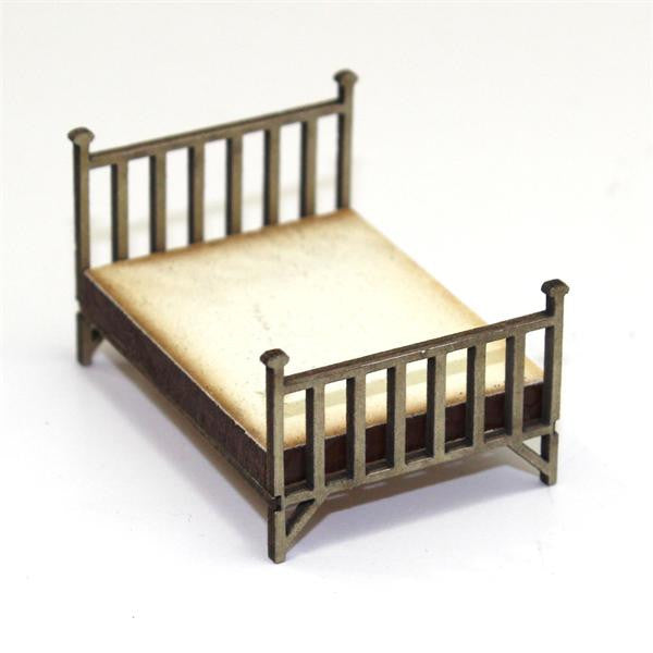 4GROUND - Double brass bed - 28mm - 28S-FAB-024