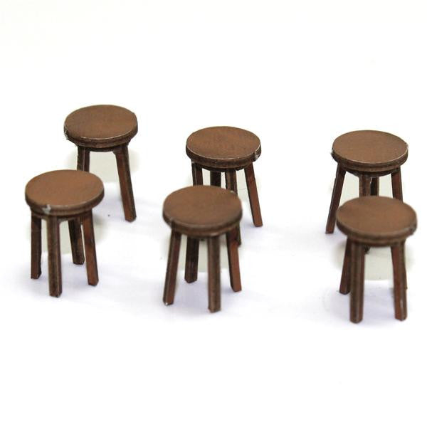 4GROUND - Bar stool in light wood - 28mm - 28S-FAB-027L