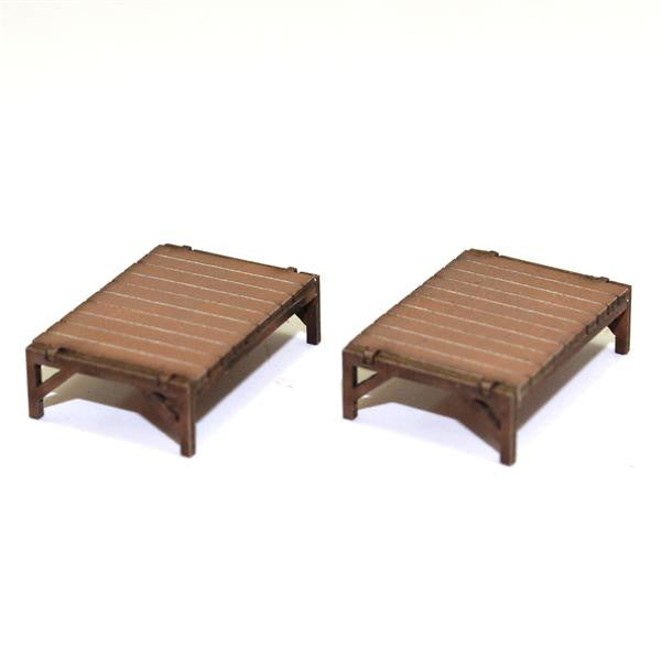 4GROUND - Pallet beds in light wood - 28mm - 28S-FAB-036L