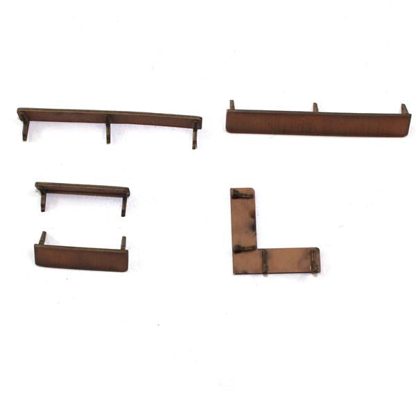 4GROUND - Shelves in light wood - 28mm - 28S-FAB-042L