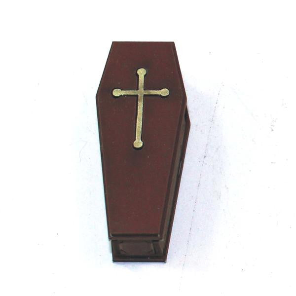 4GROUND - Coffin 1 in medium wood - 28mm - 28S-FAB-043M
