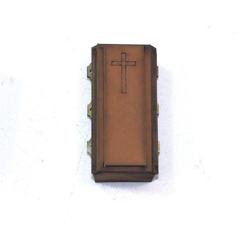 28S-FAB-045L 28mm 4GROUND Coffin 3 in light wood
