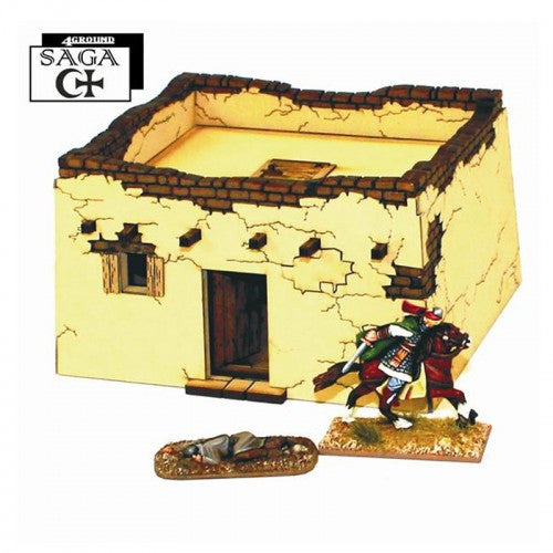 4GROUND - Arab rural dwelling 1 - 28mm - 28S-MET-101