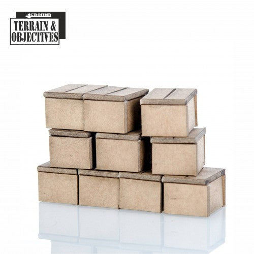 4GROUND - Cardboard boxes - 28mm - 28S-TAO-137