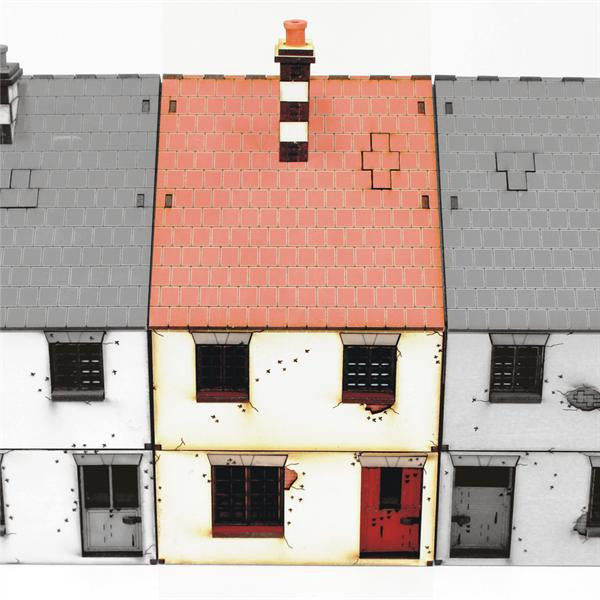 4GROUND - 28S-WAW-103 - Mid terrace-house (Type 1) - 28mm