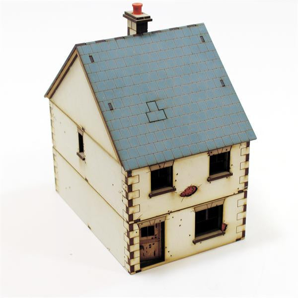 4GROUND - 28S-WAW-104 - Detached-House (type 1) - 28mm
