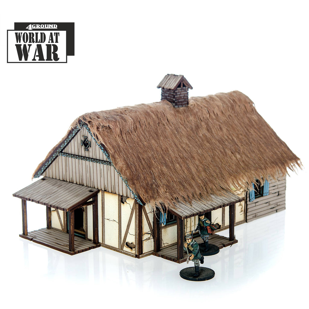 4GROUND - Polish Rural House - 28mm - 28S-WAW-121