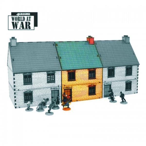 4GROUND - Mid Terrace Type 2 - 28mm - 28S-WAW-137