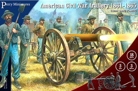 Perry - American civil war artillery 1861-1865 - 28mm