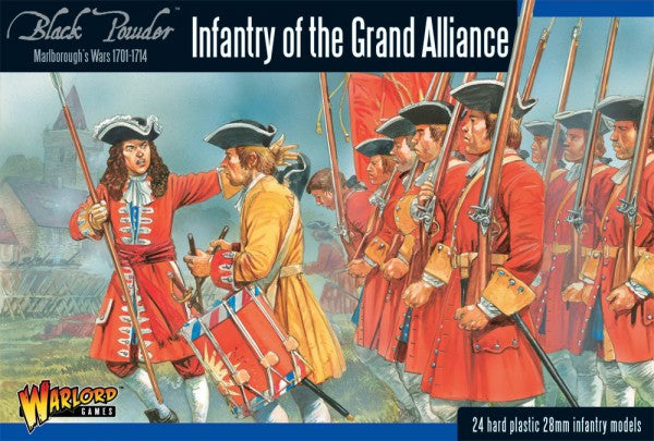 Warlord Games - Black Powder - Infantry of the grand Alliance - 28mm