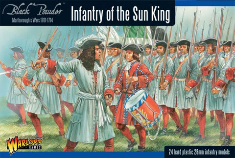 Black Powder - 302015003 - Infantry of the sun king - 28mm