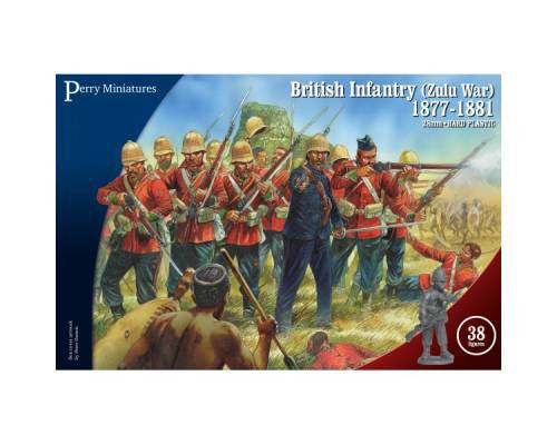Perry VLW20 - British infantry (Zulu War) 1877-1881 - 28mm