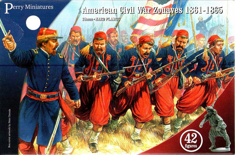 Perry - American civil war - Zouaves 1861-1865 - 28mm