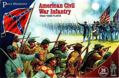 Perry - American civil war infantry - 28mm
