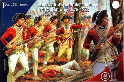 Perry - American war of independence british infantry 1775-1783 - 28mm