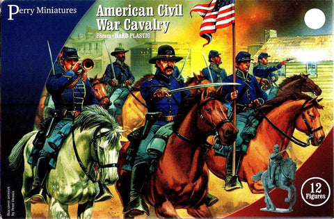Perry - American civil war cavalry - 28mm