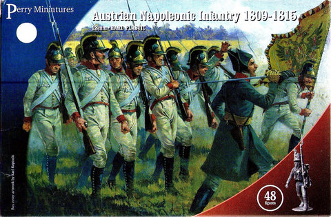 Perry - Austrian napoleonic infantry 1809-1815 - 28mm