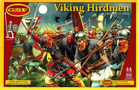 Gripping Beast - Viking Hirdmen - 28mm - GBP01