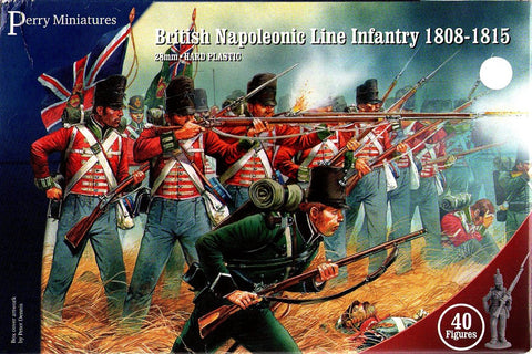Perry - British napoleonic line infantry 1808-1815 - 28mm