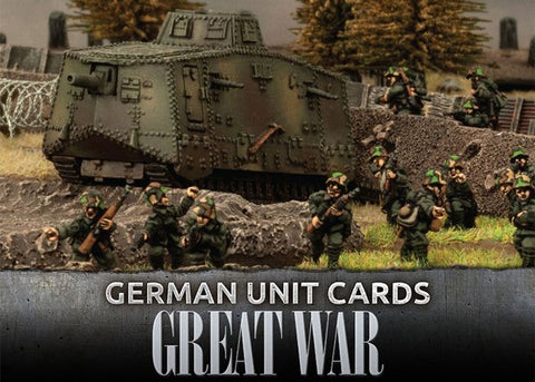Great War GGE901 - Great War - German Unit Cards