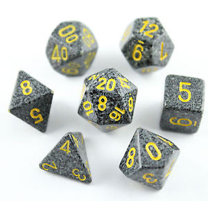 Chessex - Urban Camo - Polyhedral 7 die set