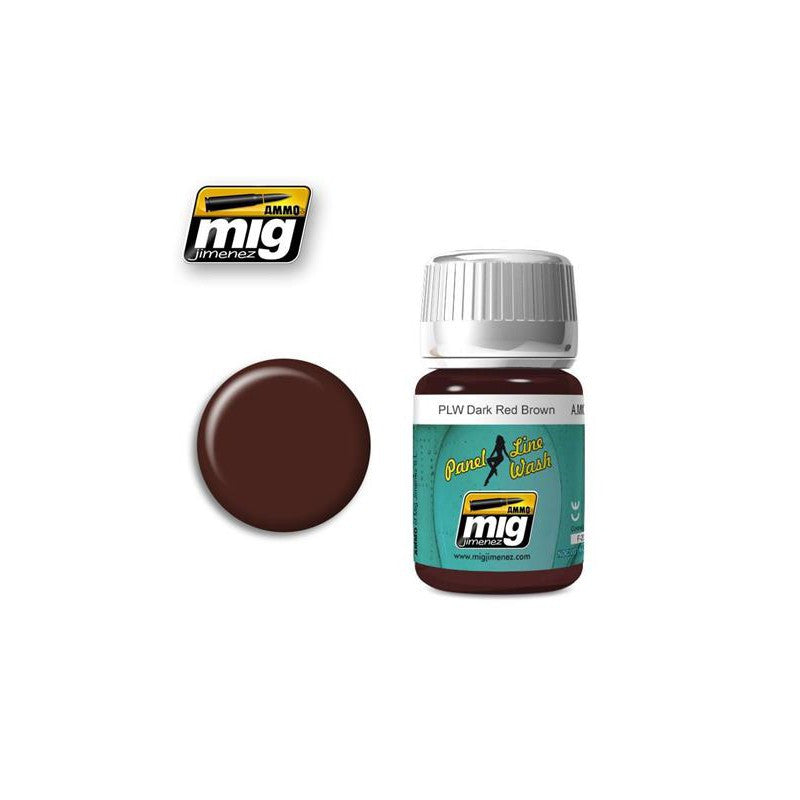 Ammo of Mig - PLW - Dark Red Brown