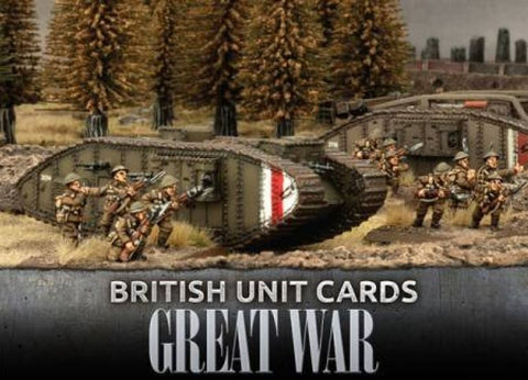 Great War GBR901 - Great War - British Unit Cards