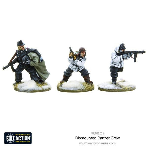 Warlord games - Bolt Action - Dismounted panzer crew winter - 28mm