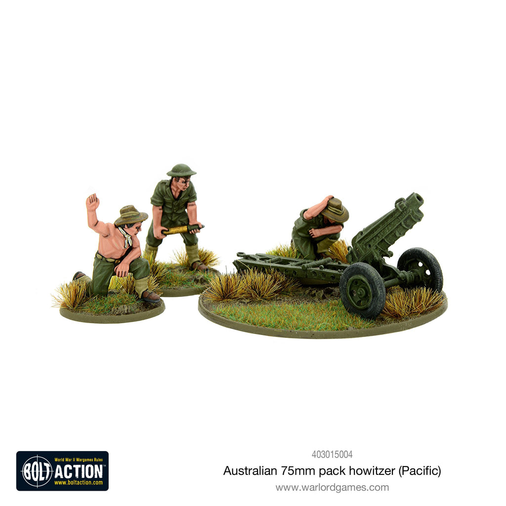 Warlord Games - Bolt Action - Australian 75mm pack howitzer (Pacific)