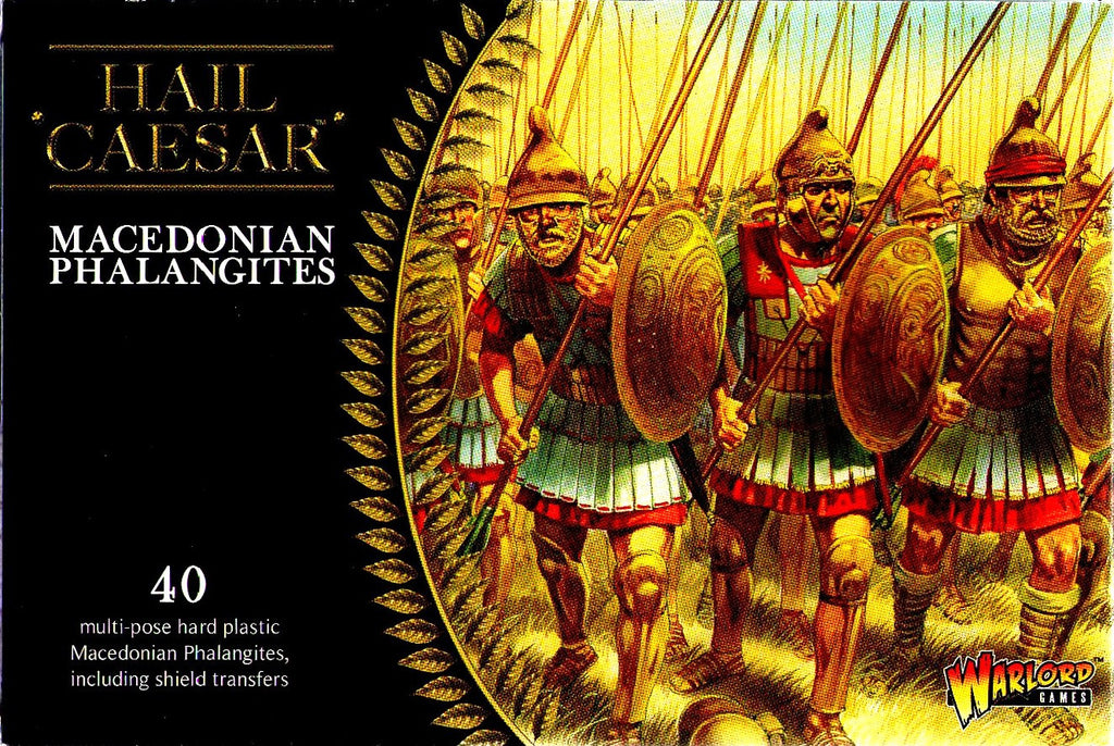 Warlord Games - Hail Caesar - Macedonian phalangites - 28mm