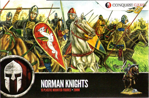 Conquest Games - Norman knights - 28mm