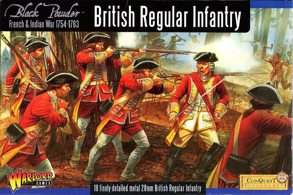 Warlord Games WG7-FIW-02 - Black Powder - British regular infantry - 28mm