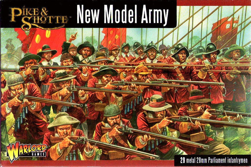 Warlord Games - Pike & Shotte - New model army - 28mm