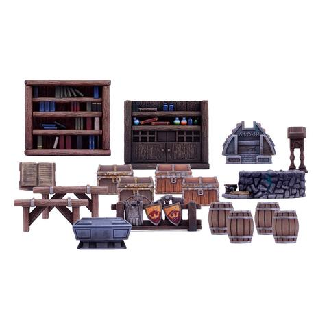 Mantic - Dungeon Saga - Dungeon Furniture Pack 1 - MGDS14