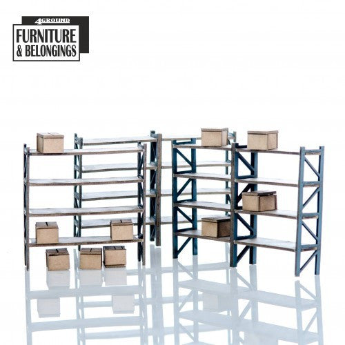 4GROUND - Shopping mall: storage racking - 28mm - 28S-FAB-085