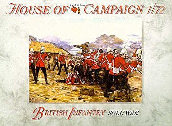 A Call To Arms - British infantry zulu war - 1:72