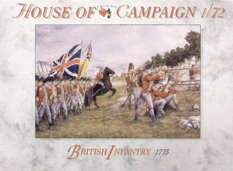 A Call To Arms - British infantry 1775 - 1:72