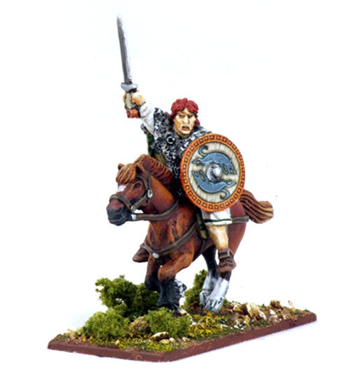 Gripping Beast - SAGA - Irish mounted warlord - 28mm - SI01c