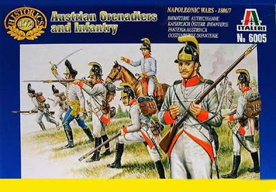 Italeri - Austrian Grenadiers and infantry - 1:72