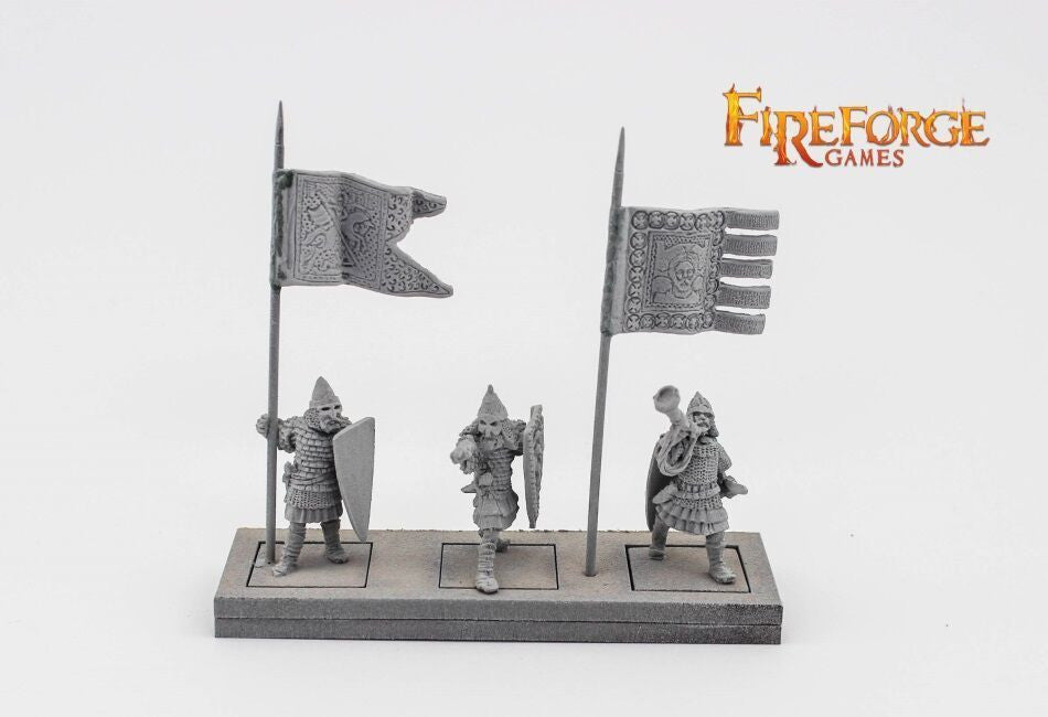 Fireforge Games - FFG141 - Deus Vult - Russian Infantry Command - 28mm