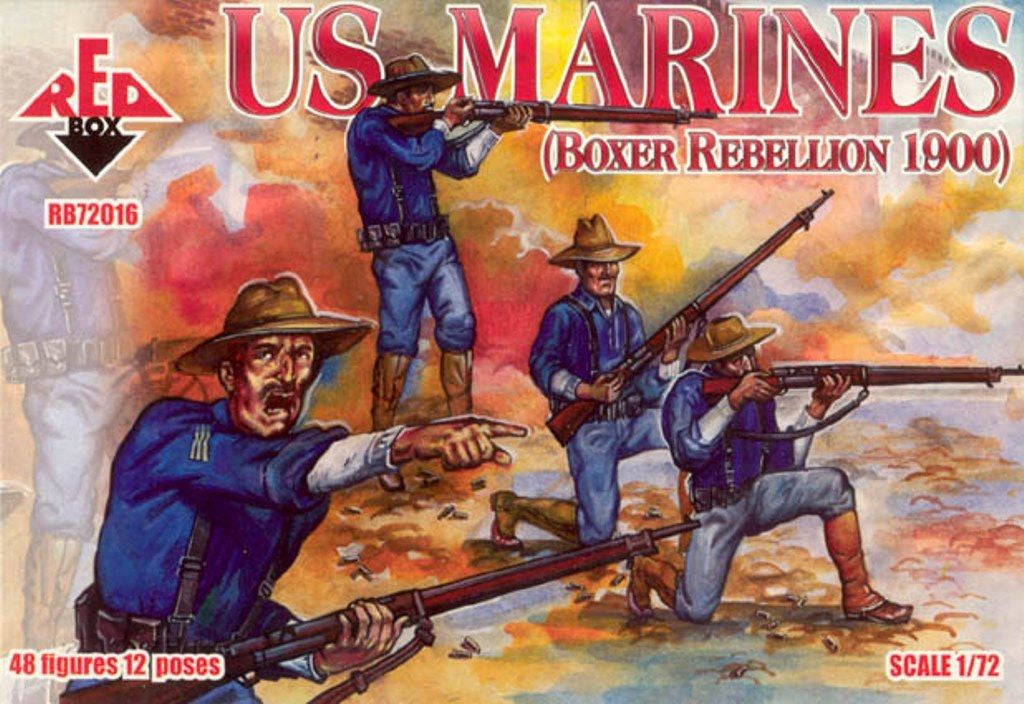 Red Box RB72016 - US Marines - 1:72