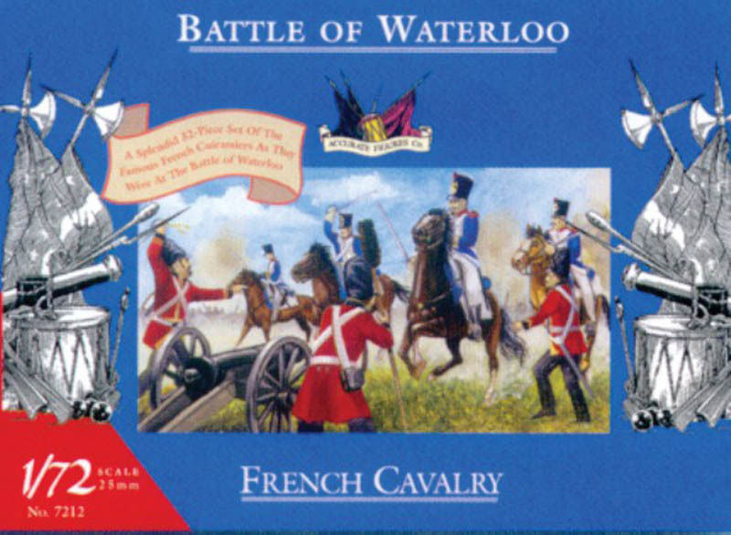 Accurate Figures Ltd. - French cavalry - 1:72