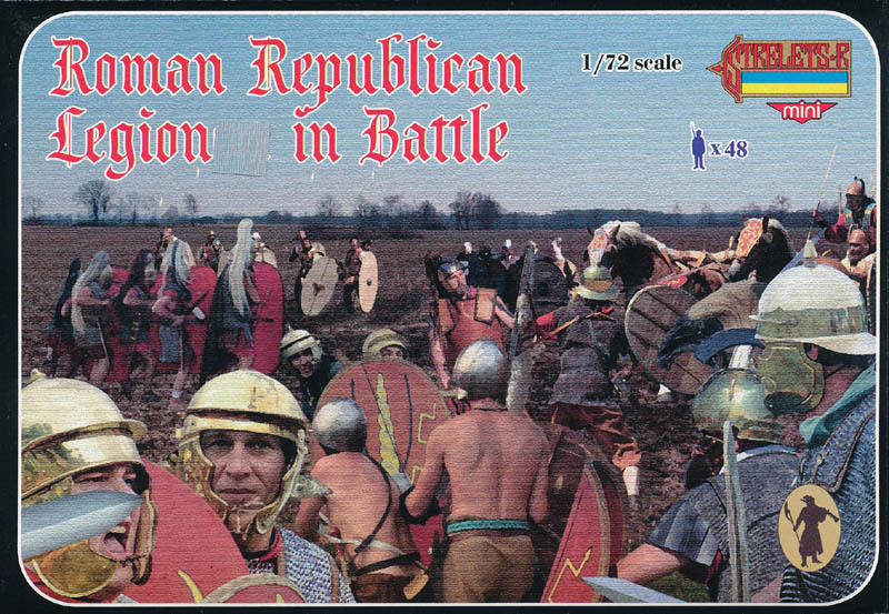 Strelets M079 - Roman Republican Legion in Battle - 1:72