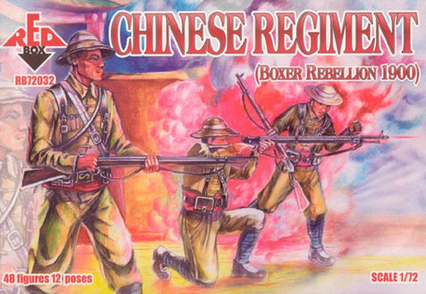 Red Box - Chinese regiment - 1:72