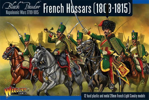 Black Powder - 302012002- French Hussars (1808-1815) - 28mm
